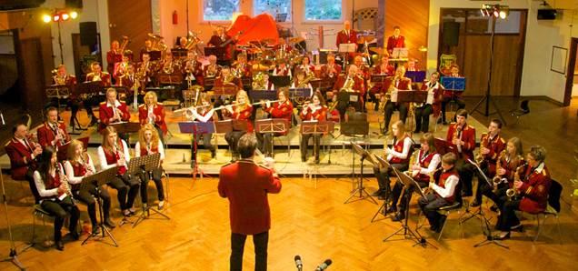 Musikverein Alfen 2013