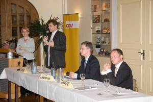 Die Bewerber für als Bundestagskandidat der CDU stellen sich in Hövelhof vor