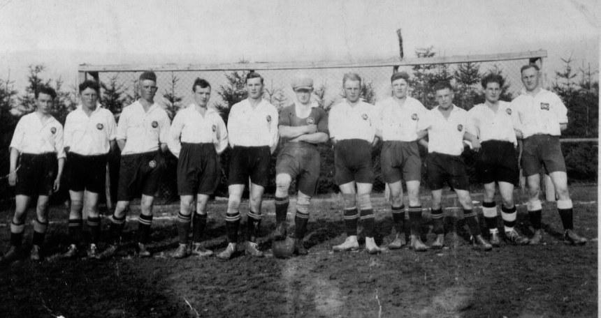 von links: J. Lohmann, R. Ratke, B. Drüke, J. Thebille, A. Thebille, K. Drüke, St. Pyda, A. Dransfeld, J. Barlog, J. Drüke, H. Schulte