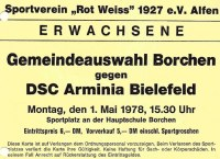 Gemeindeauswahl Borchen gegen DSC Arminia Bielefeld