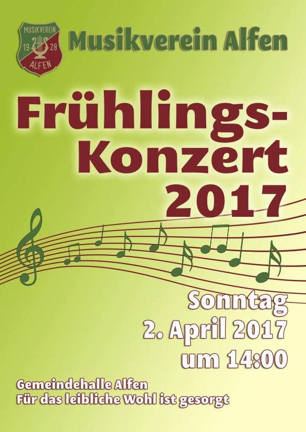 Frühlingskonzert des Musikvereins