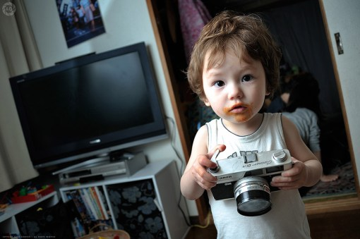 Dad, I've run out of film...