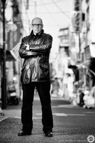 David Peace, writer: editorial portrait commission