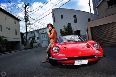 Ballet dancer Tetsuya Kumakawa, for Ferrari Magazine