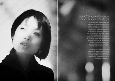 Magazine layout ideas