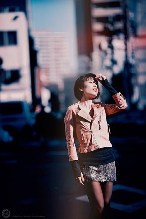Street fashion shoot in Tsukiji