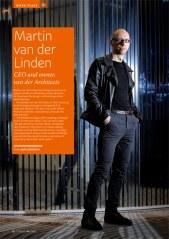 Portrait of architect Martin ven der Linden for Eurobiz Magazine