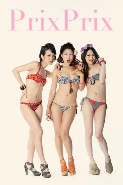 Studio fashion shoot for Salinas swimwear