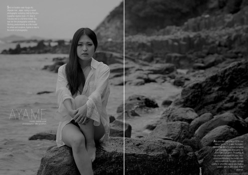 Fashion shoot with Ayame Uzuki