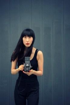 Mari shoots the photographer