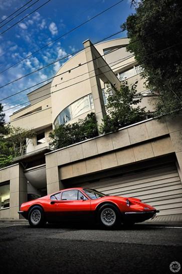 Ferrari Dino 246 GT for Ferrari Magazine