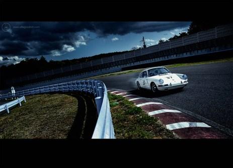 Tetsu Ikuzawa for Porsche 911 50th Anniversary book