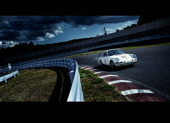 Tetsu Ikuzawa for Porsche 911 50th Anniversary book