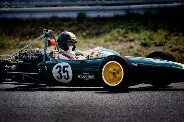 Tony Ito in Lotus 35 for Sodegaura Raceway
