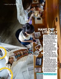Tokyo Cafe feature for Ink Publishing, Hong Kong