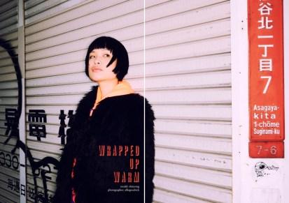 Fashion shoot with Shinyong