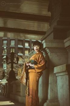 Shoot for http://kimonogeisha.com in Nihonbashi