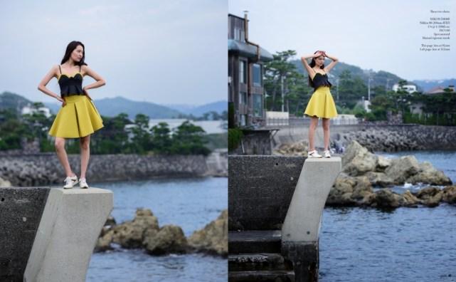 Fashion photography in Hayama