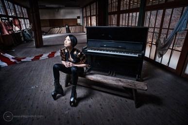 Shinyong at haikyo [abandoned village], Japan