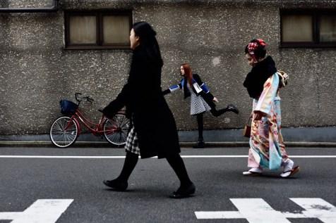 Kimono lady & Reverie