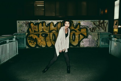 Test shooting with Norie