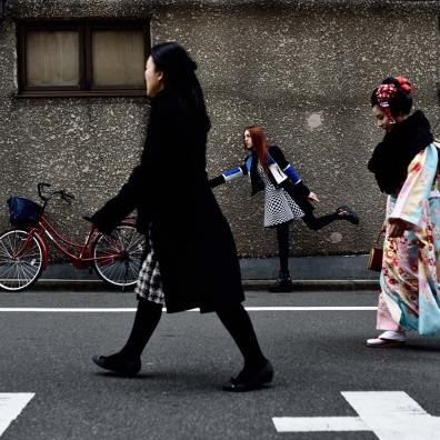 Fashion photography in Tokyo: Reverie in Asakusa