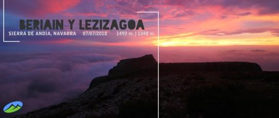 MendiaK: Beriain y Lezizagoa (Un atardecer épico)