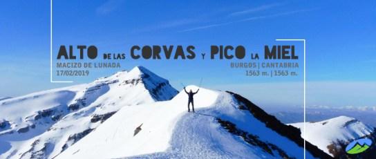 MendiaK: Alto de las Corvas y Pico La Miel (Invernal)