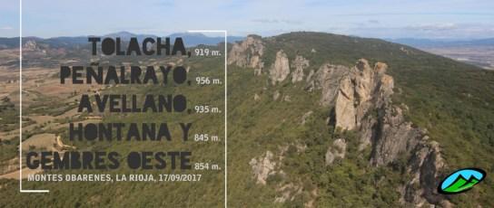 MendiaK: Tolacha, Peñalrayo, Avellano, Hontana y Gembres Oeste