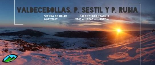 MendiaK: Valdecebollas, Peña Sestil y Peña Rubia (Invernal)