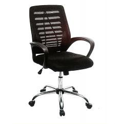 Revolving Executive Chair Modern Bucket Chairs Emel Victory Medium Back Mesh Office