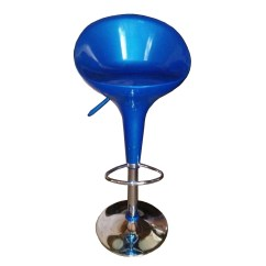 Revolving Chair Bar Stool How To Make Bean Bag Patterns Plastic On Height Adjustable Stand
