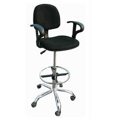 Swivel Chair Nigeria White Leather Computer Cashiers Office High With Armrest  Alfim