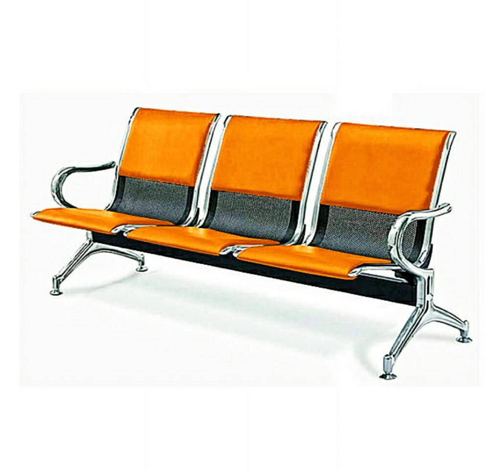 ergonomic chair nigeria arm set 3 seater leather padded reception airport waiting office