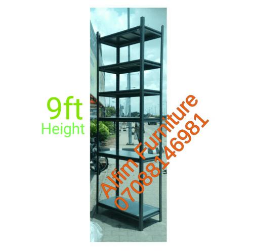 Alfim Nigeria Limited boltless rivet steel shelving rack