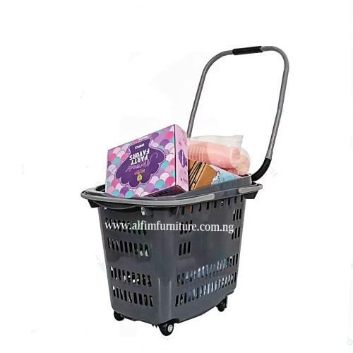 Alfim furniture Executive basket trolley loaded_wm