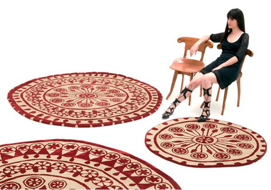 Alfombras modernas redondas tienda online alfombras dise o for Alfombras redondas modernas