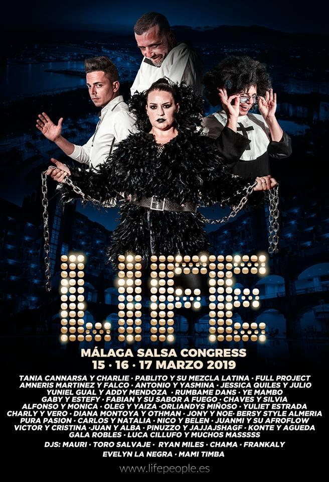 Life Salsa Congress Málaga 2019