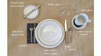The Perfect Table Setting For Any Meal Service   MANK