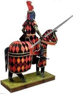 Cavaliere della giostra scala 1:9