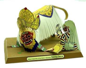 Costume rituale indonesiano