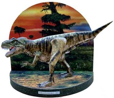 Diorama dinosauri - T.Rex
