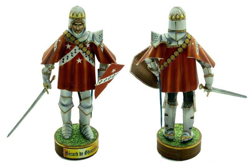 Gerard de Ghistelles - Battaglia di Azincourt