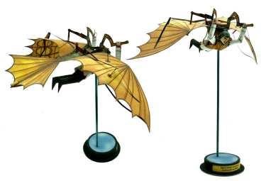 Leonardo da Vinci - Macchina volante