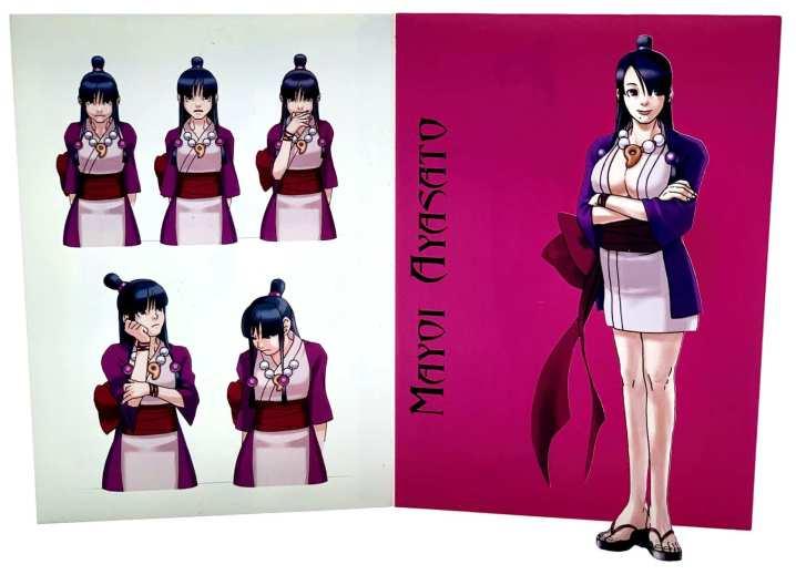 The art of Gyakuten Saiban - Mayoi Ayasato