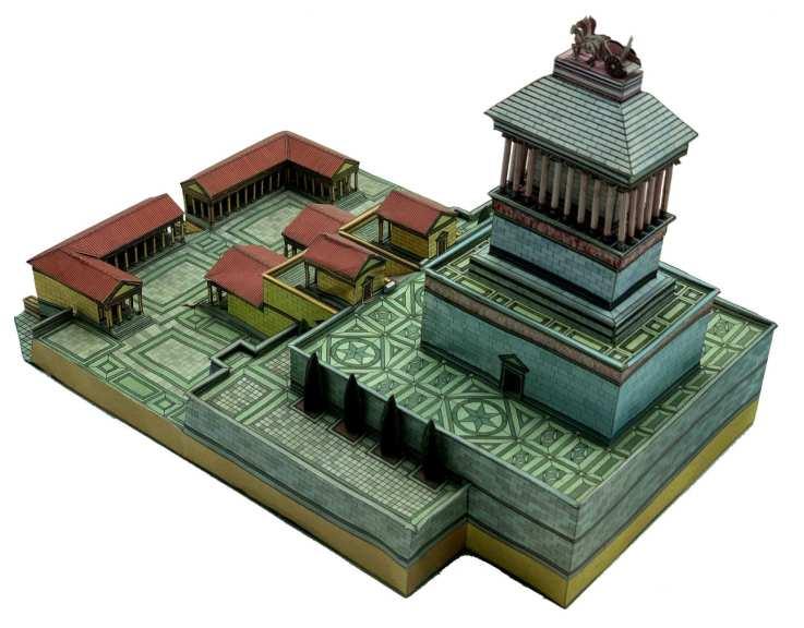 Mausoleo di Alicarnasso - 7 Meraviglie