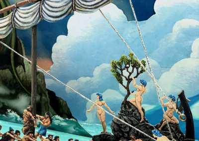 Zinnfiguren diorama – Odissea