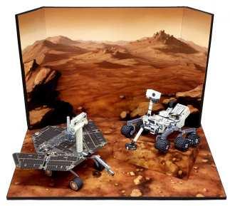 Diorama Marte