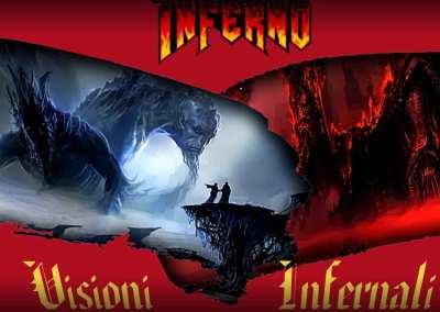 Visioni Infernali – I luoghi dell'Inferno – 3D book
