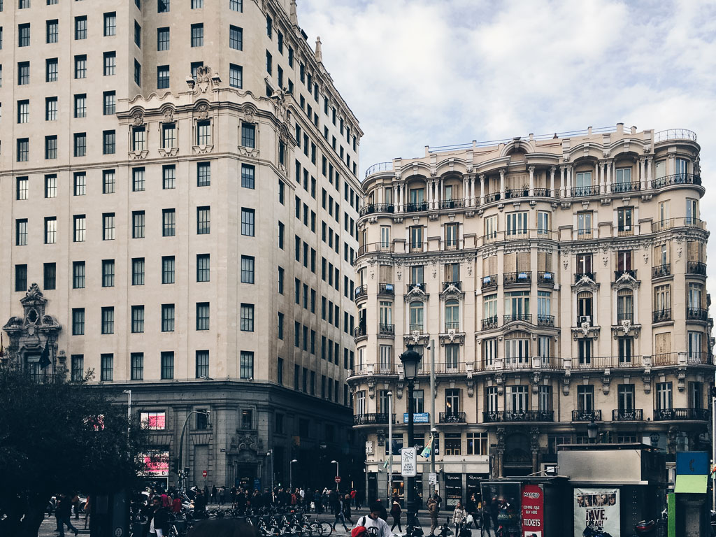 Gran Vía. Madrid by Alfredo Liétor Photography